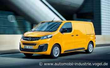 Opel baut auf Brennstoffzellen-Kleintransporter