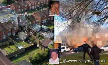 Ashford gas explosion: Heroic pair save lives as huge blast 'blows off front of house'