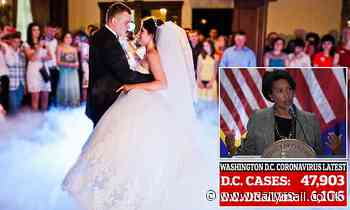 Covid US: Washington DC mayor prohibits dancing at weddings as restrictions are eased