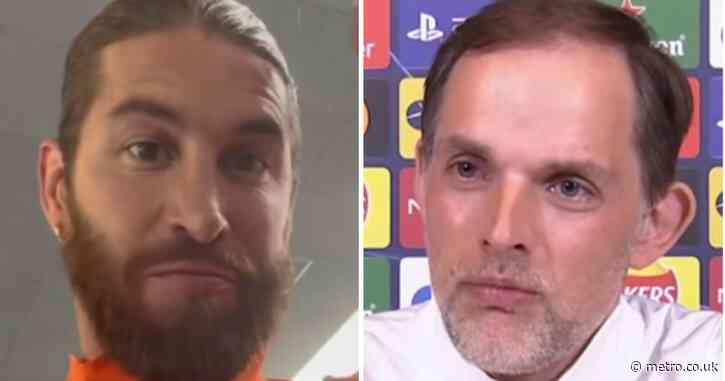 Thomas Tuchel predicts Real Madrid will take Sergio Ramos selection gamble vs Chelsea