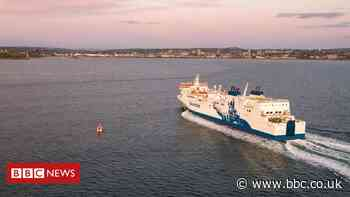 NorthLink ferry forced to divert by fouled propeller and bad weather