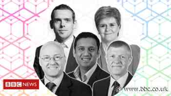 Scottish election 2021: Leaders to take part in final debate of campaign