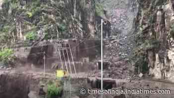 Cloudburst hit Himachal Pradesh's Chamba