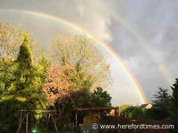 Six of the best rainbow pictures from Herefordshire's washout bank holiday