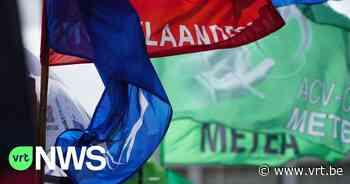 Vakbondcentrales dreigen met stakingen om druk op regering op te voeren over loonopslag - VRT NWS
