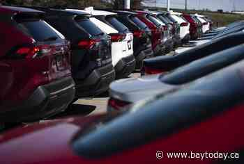Canada's April vehicle sales up 254 per cent from last year's pandemic low