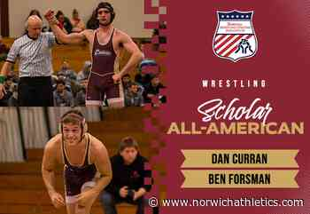 Wrestling: A Pair of Cadets Earn NWCA Scholar All-American Status - norwichathletics.com