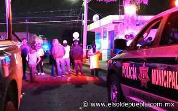 Le arrebatan la vida a tiros en San Bernardino Tlaxcalancingo - El Sol de Puebla