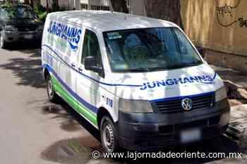 Sin permiso, embotelladora Junghanns perfora pozo profundo en Tlaxcalancingo; Conagua definirá hoy su permanencia - Puebla - - La Jornada de Oriente