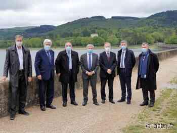 Revel. Alain Chatillon et Laurent Hourquet reçoivent le préfet Étienne Guyot au lac de Saint-Ferréol - actu.fr