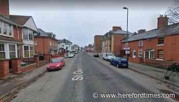 Cyclist treated for injuries after crash with car in Hereford