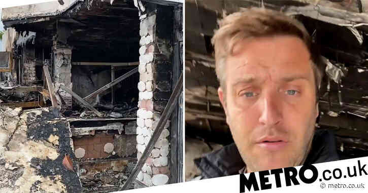 Ex-Towie star Elliott Wright 'trying to be positive' as he attempts to rebuild Olivia's restaurant for summer following 'arson attack'