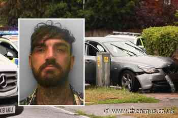 VIDEO: Worthing dangerous driver Alan Gale jailed after chase