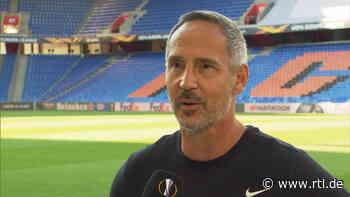 Europa League Wunder gegen Basel? Frankfurter Adi Hütter und David Abraham im Interview - RTL Online