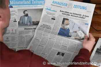 Guten Morgen: Kein leichter Abschied von der MLZ - Münsterland Zeitung