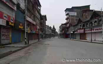 Coronavirus | Jammu and Kashmir extends lockdown in five districts as 37 die, 4,650 test positive - The Hindu