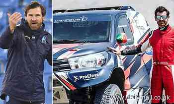 Villas-Boas will make his World Rally Championship debut just two months after leaving Marseille