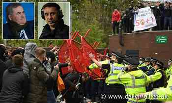 Manchester United: Richard Keys accuses Gary Neville of 'instigating a RIOT' after defending protest