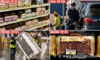 Grocery, gas and electricity prices surge as inflation warnings grow