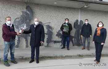 Kunstwerk von Robert Mayer in Seebruck eingeweiht - Passauer Neue Presse