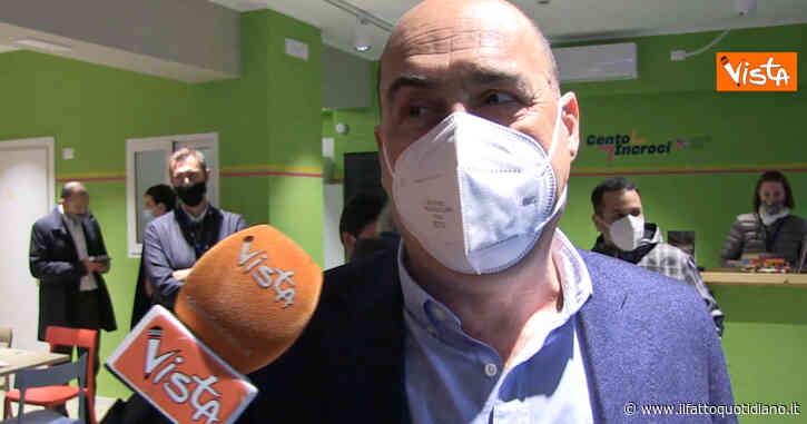 """Vaccini in Lazio, Zingaretti: """"Protette persone a rischio, tra qualche settimana apriremo le vaccinazioni a tutti"""""""