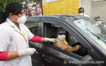 Coronavirus | Over 3.4 lakh new infections and 3,112 deaths reported - The Hindu