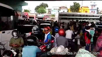 Covid-19: Chaos at state bus terminal in Bhubaneswar after govt announces lockdown