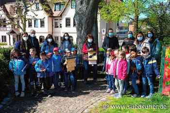 Immenstaad: Neuer Wohnraum für Fledermäuse in Immenstaad: BUND-Ortsgruppe hängt Nistkästen an Kindergärten und Grundschule auf - SÜDKURIER Online