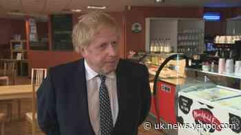 Johnson: Old Trafford protests 'not a good idea' - Yahoo News UK