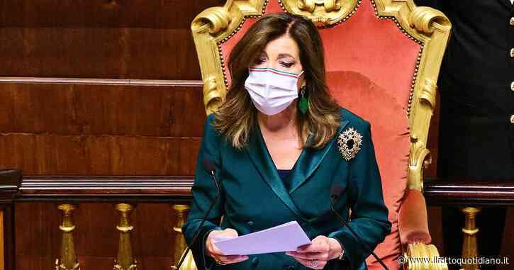 """Eletto senatore ma non proclamato, diffida alla presidente Casellati: """"Rischio di danno erariale per omissione atti d'ufficio"""""""