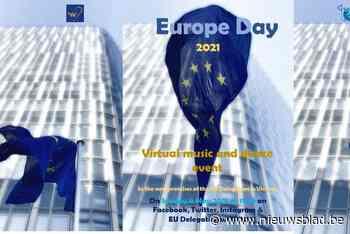 Floris and the Flames treedt op ter gelegenheid van Europe Day 2021