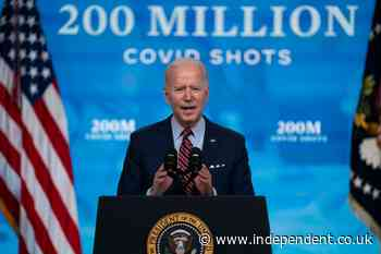 Biden unveils target of 70% of Americans vaccinated by 4 July - what then for the remaining 30%?