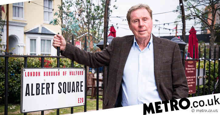 EastEnders spoilers: First look at Harry Redknapp outside The Queen Vic as soap confirms cameo