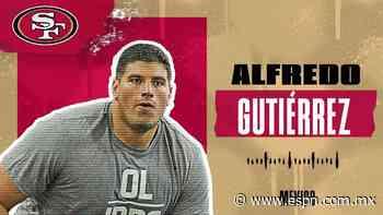 San Francisco 49ers: Mexicano Alfredo Gutiérrez fue asignado al conjunto de la bahía - ESPN