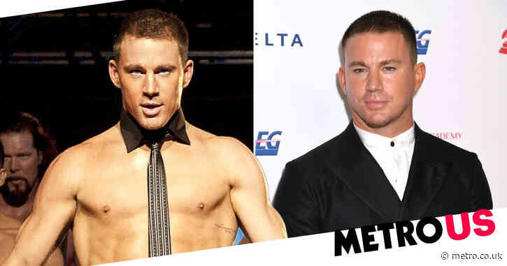 Channing Tatum says he only works out because he's always 'naked' in films