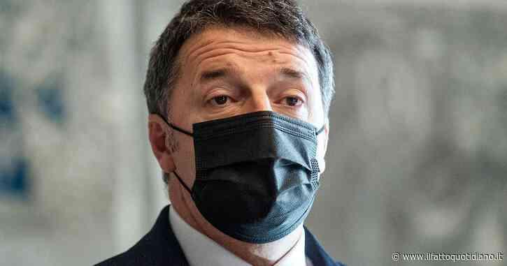 """Incontro Renzi-007, interrogazione dei 5 stelle a Draghi: """"Fare chiarezza"""". Il leader di Iv: """"Servizio Report da manuale di complottismo"""""""