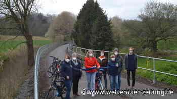 Bahnradweg von Hungen nach Laubach nun komplett - Wetterauer Zeitung