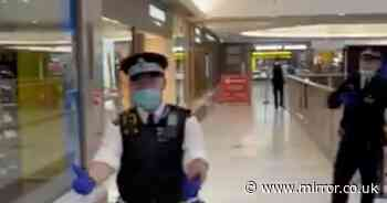 Police evacuate busy London shopping centre after 'stabbing' incident