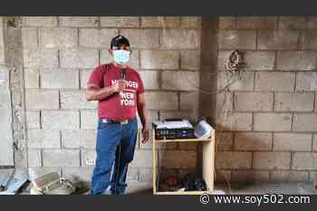 Covid-19: El pregonero en Concepción, Sololá - Soy502