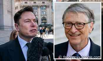 Elon Musk's fury with 'knucklehead' Bill Gates after shutting down 'lovers' claim