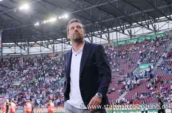 VfB Stuttgart beim FC Augsburg - So desaströs lief der letzte Spieltag unter Markus Weinzierl - Stuttgarter Zeitung