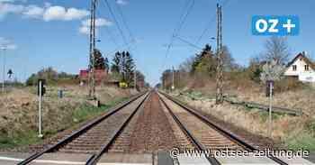 Hoffen auf den Haltepunkt: Stoppen bald wieder Züge in Stralsund-Andershof? - Ostsee Zeitung