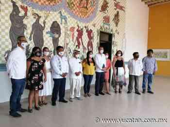 Yucatán y Oaxaca unidos a través de un mural plasmado en Izamal - El Diario de Yucatán