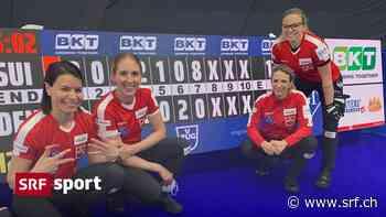 An Curling-WM gegen Dänemark - Achterhaus! Schweizerinnen schaffen historische Sensation - Schweizer Radio und Fernsehen (SRF)
