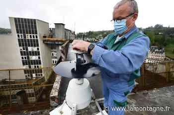 Une bande collante, une girouette : du haut de l'hôpital de Tulle, la Corrèze tient ses pollens à l'oeil - La Montagne