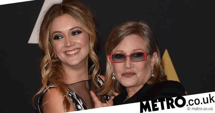 Billie Lourd remembers late mum Carrie Fisher as she marks Star Wars Day with son Kingston