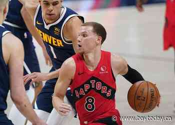 Stepping in for injured Lowry and VanVleet, Flynn picks up rookie of month honours