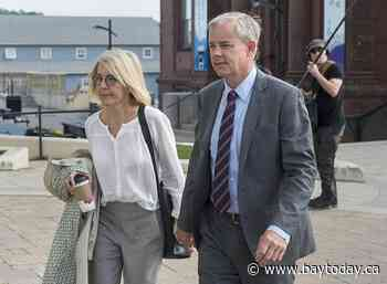 'A lot of blood.' Dennis Oland's wife accused him of intimate partner violence