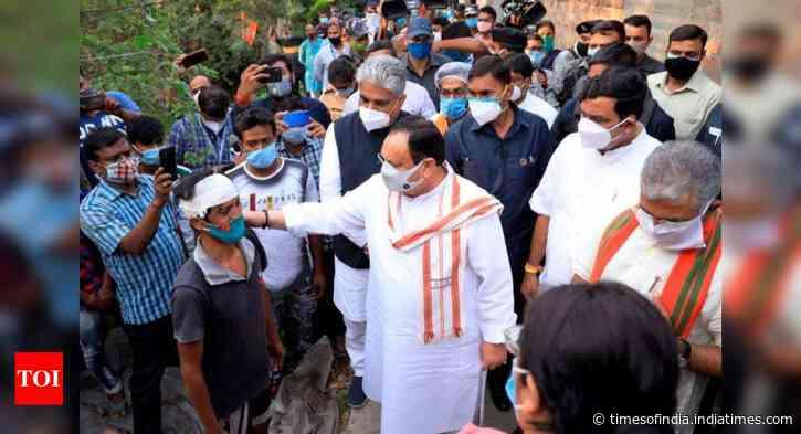 PM Modi calls up Bengal governor on violence, Didi smells 'President's rule'