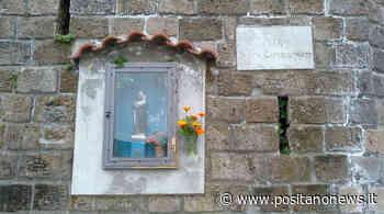 Piano di Sorrento, il Prof. Ciro Ferrigno ci guida alla scoperta dell'edicola di S. Antonio in Via Caposcannato - Positanonews - Positanonews
